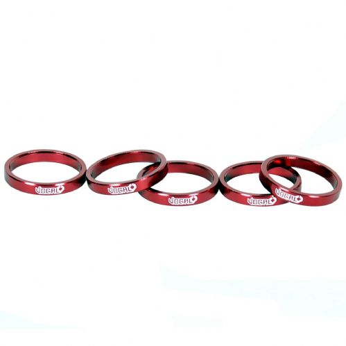 Vocal Headset Spacer Alloy 2.5mm - Red